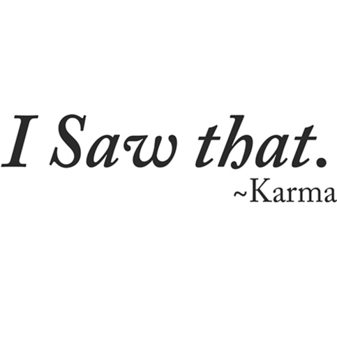 Lesson By Karma